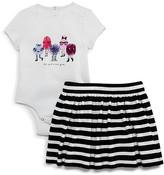 Kate Spade Infant Girls' Monster Bodysuit & Skirt Set - Sizes 12-24 Months