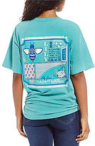 Lily Grace Bee Happy Short Sleeve Graphic Tee