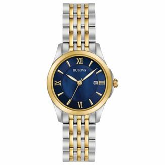 Bulova Women's Quartz Stainless Steel Dress Watch