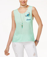 Disney Juniors' Stitch Graphic Tank Top