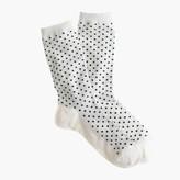 J.Crew Dotted trouser socks