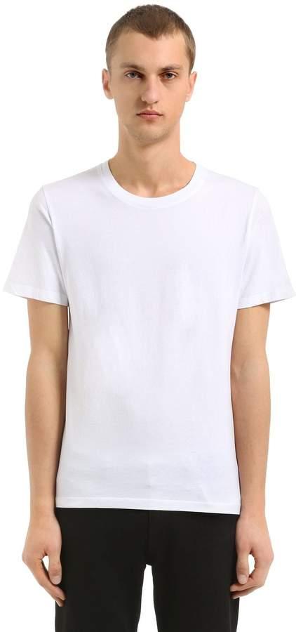 Maison Margiela 3 Pack Of Cotton Jersey T-Shirt