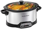 Hamilton Beach 6 Qt. Slow Cooker - Stainless Steel 33463