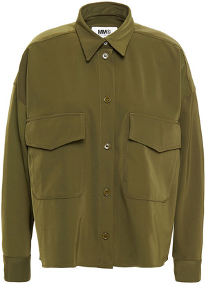 MM6 MAISON MARGIELA Oversized Stretch-twill Shirt
