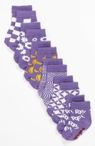 Trumpette 'Pop Socks in a Tin Can' Sock Set (6-Pack)(Baby Girls) Purple One Size