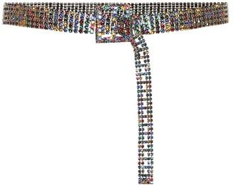Veronica Beard Orion crystal-embellished belt