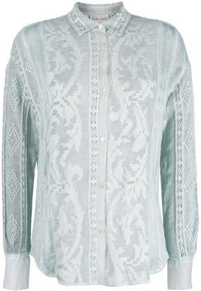 Forte Forte sheer embroidered shirt