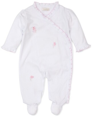Kissy Kissy Flower Embroidered All-In-One (0-9 Months)