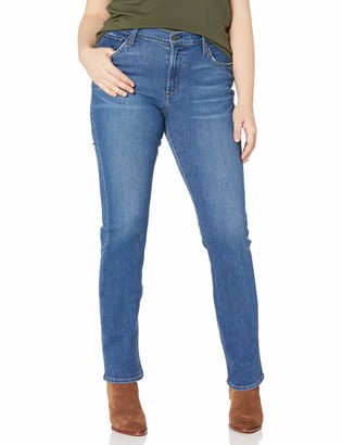 James Jeans Women's Plus Size Straight Leg Hunter in Victory 28