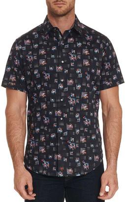 Robert Graham Men's Castle Den Short-Sleeve Sport Shirt
