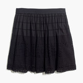 Madewell Beachhouse Eyelet Skirt