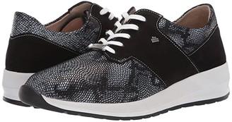 Finn Comfort Caino (Black/Stretch) Women's Shoes