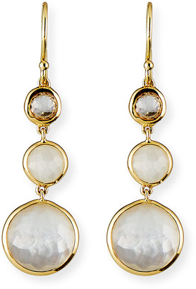 Ippolita 18k LollipopA Three-Stone Drop Earrings
