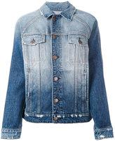 Current/Elliott faded denim jacket