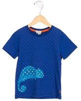 Paul Smith Boys' Iguana Print Short Sleeve Shirt w/ Tags