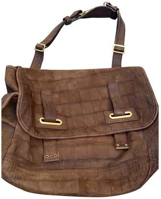 Saint Laurent Messenger Brown Leather Handbags