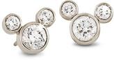 Disney Diamond Mickey Mouse Earrings - Medium - 18K