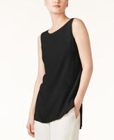 Eileen Fisher SYSTEM SYSTEM Silk High-Low Tunic, Regular & Petite