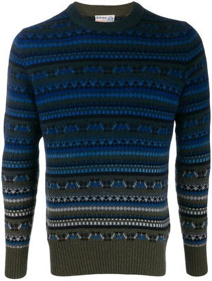 Ballantyne Fair-Isle Knit Sweater