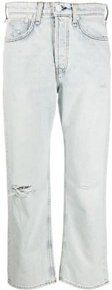 Rag & Bone Maya ripped boyfriend jeans