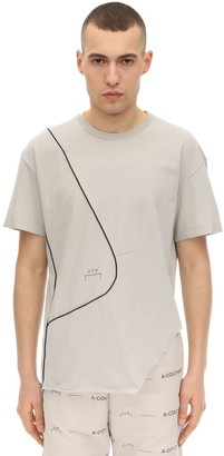 A-Cold-Wall* A Cold Wall* SLASHED COTTON JERSEY T-SHIRT