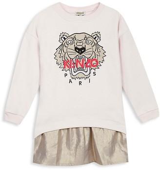 Kenzo Little Girl's Tiger Logo Dress