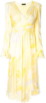 Stine Goya Freesia abstract print dress
