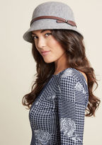 ModCloth Cloche-Minded Hat in Pebble
