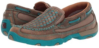 Twisted X WDMS006 (Bomber/Turquoise) Women's Shoes