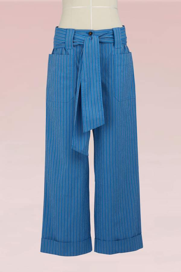 Tory Burch Cotton Robin Pant