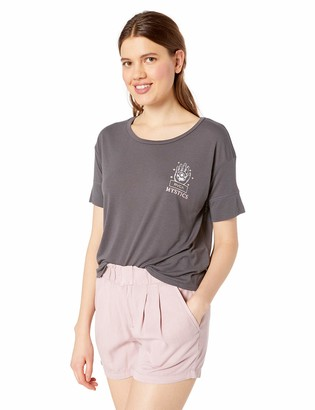 RVCA Women's Psychic Drapey Short Sleeve T-Shirt