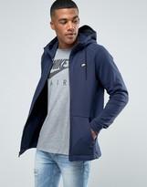 Nike Modern Zip Hoodie In Blue 805130-451