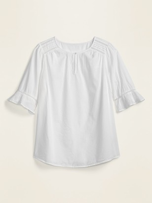 Old Navy Loose Bell-Sleeve Plus-Size Swing Blouse