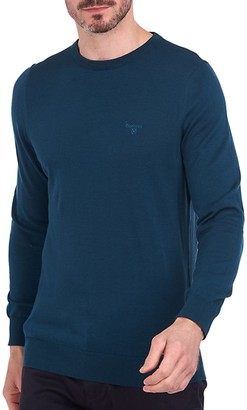 Barbour Light Logo-Embroidered Sweater