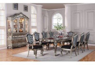 """Astoria Grand Wensley Extendable Dining Table Size: 30"""" H x 96"""" L x 44"""" W"""