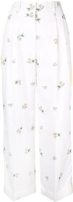 Racil Agadir floral trousers