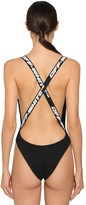 Off-White Off White LOGO BANDED LYCRA ONE PIECE SWIMSUIT