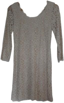 Diane von Furstenberg Beige Lace Dresses
