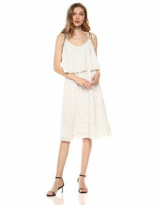 Cupcakes And Cashmere Women's latana Polkadot Dress