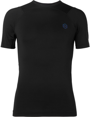 Under Armour Ua Rush Compression Mesh-Panelled Stretch-Jersey T-Shirt
