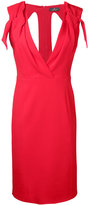 Capucci v-neck fitted dress - women - Spandex/Elastane/Acetate/Viscose - 42