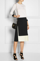 Calvin Klein Collection Tiana color-block crepe skirt