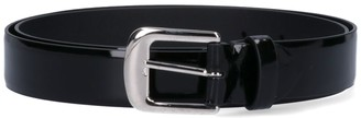 Maison Margiela Silver-toned Buckle Belt