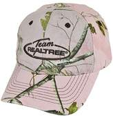 Outdoor Cap Team Realtree Brand Women Ladies Camouflage Hunting Velcro Outdoors Hat