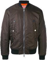 DSQUARED2 bomber jacket - men - Polyamide/Polyester/Polyurethane/Wool - 50