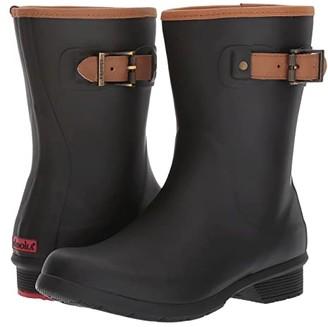 Chooka City Solid Mid Boot (Black) Women's Boots