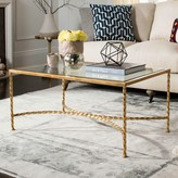 Safavieh Couture Gold Finish Coffee Table