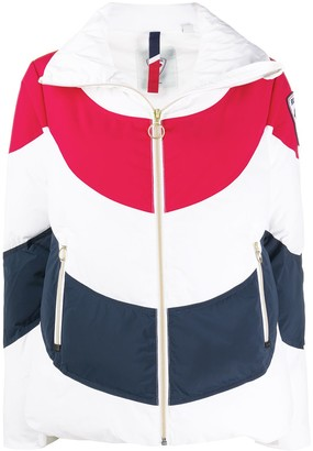 Rossignol Quilted Colour-Block Jacket