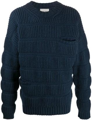 Henrik Vibskov Chunky Wool Knit Jumper