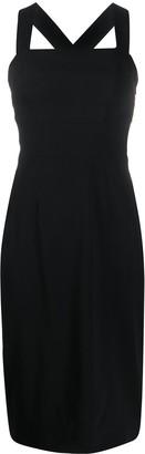 Dolce & Gabbana Cross Back Strap Dress